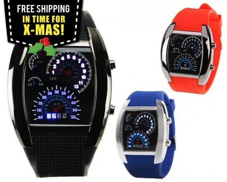 LED Dashboard Watch