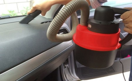 Wet Dry Auto Vacuum with LED Lights