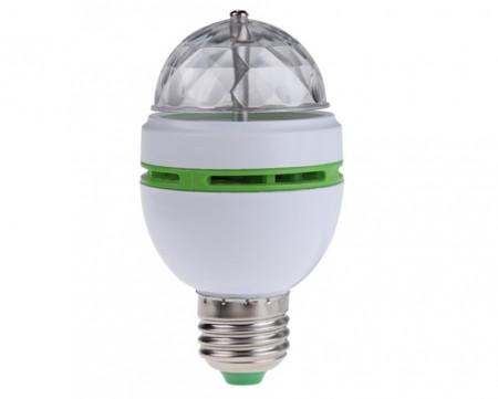 Colorful Rotating LED Bulb