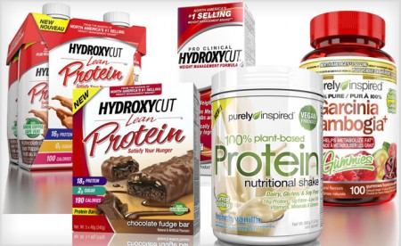 Hydroxycut and Purely Inspired