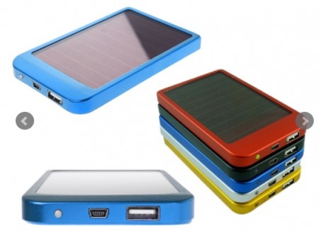 Solar-Powered USB Charger