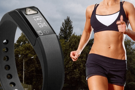 Bluetooth Health Tracker Bracelet