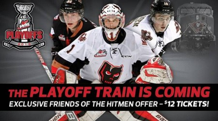 Calgary Hitmen Friends and Family Playoff Ticket Offer - Only $12 a Ticket (Save up to 50 Off)