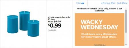 IKEA - Calgary Wacky Wednesday Deal of the Day (Mar 4) B