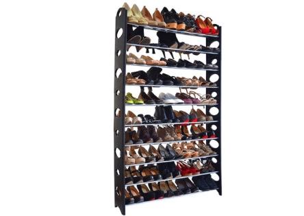 Maison Condelle 50-Pair Shoe Rack