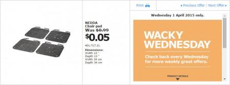 IKEA - Calgary Wacky Wednesday Deal of the Day (Apr 1) B