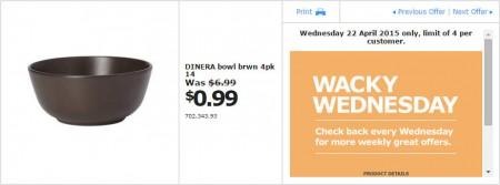 IKEA - Calgary Wacky Wednesday Deal of the Day (Apr 22) A