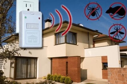 Ultrasonic Pest Repellent Device