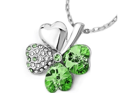 Heart Clover Necklace