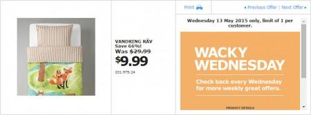 IKEA - Calgary Wacky Wednesday Deal of the Day (May 13) A