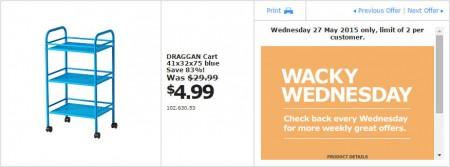 IKEA - Calgary Wacky Wednesday Deal of the Day (May 27) B
