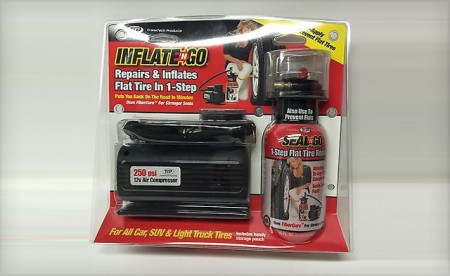 Inflate To Go Tire Kit