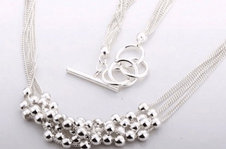Silver-Plated Dulcea Necklace