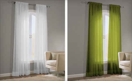 Voile Curtain Sets