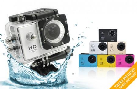 Full-HD Waterproof Sport Camera