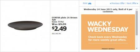 IKEA - Calgary Wacky Wednesday Deal of the Day (June 24) A
