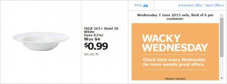 IKEA - Calgary Wacky Wednesday Deal of the Day (June 3) A