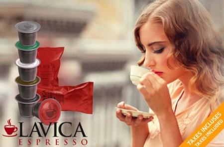 Lavica Espresso capsules