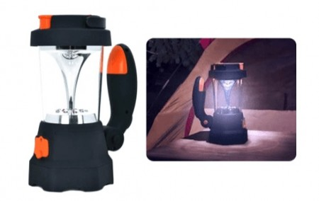ModernHome Crank Flashlight Lantern and Charger
