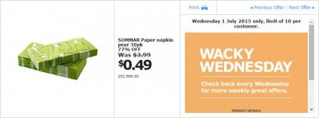 IKEA - Calgary Wacky Wednesday Deal of the Day (July 1) C