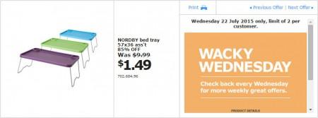IKEA - Calgary Wacky Wednesday Deal of the Day (July 22) A