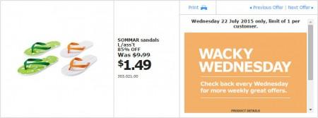 IKEA - Calgary Wacky Wednesday Deal of the Day (July 22) B