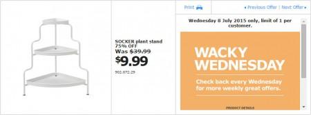 IKEA - Calgary Wacky Wednesday Deal of the Day (July 8) A