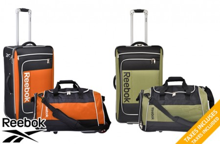Reebok luggage set
