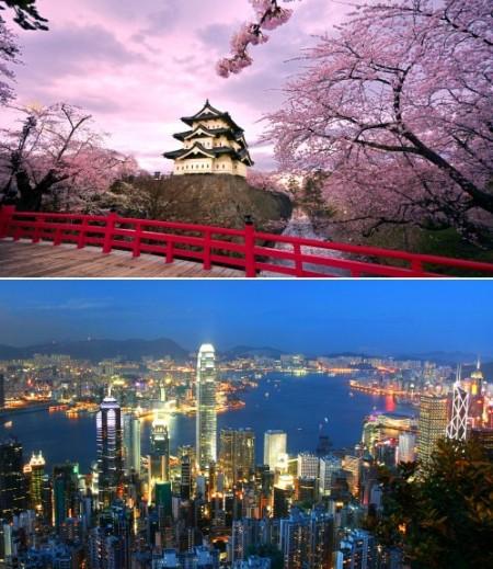 Tokyo to Hong Kong