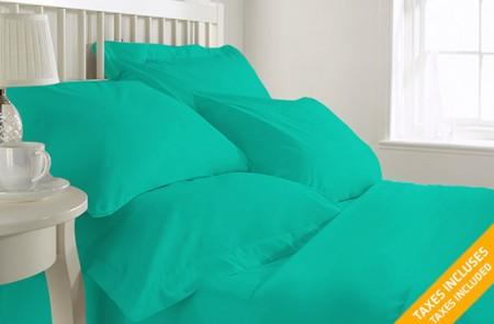cotton blended sheet set
