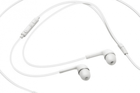 2-Pack of Samsung Galaxy Genuine Flat Wired Headset