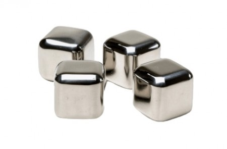 4-Pack of Stainless Steel Ice Stones