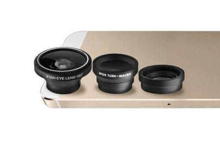 Aduro 3 Piece Camera Lens Kit for Apple iPhone 5