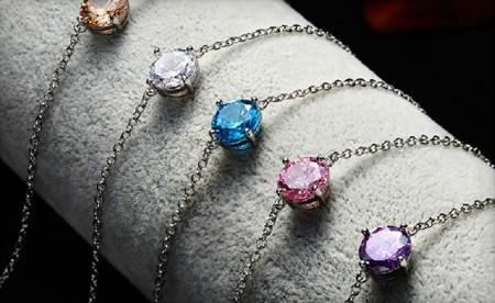 Charlotte Solitaire Crystal Bracelet