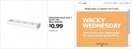 IKEA - Calgary Wacky Wednesday Deal of the Day (Aug 12) B