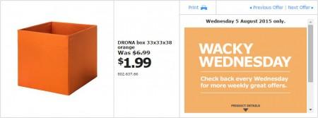 IKEA - Calgary Wacky Wednesday Deal of the Day (Aug 5) A