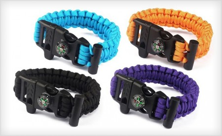 Outdoor Survival Bracelet