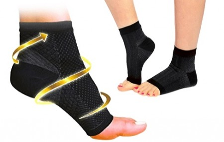 Pair of Compression Foot Sleeves