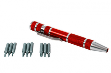 Stalwart Aluminum Precision Screwdriver Set Kit