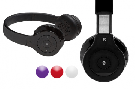 Aduro Amplify SB10 Wireless Stereo Bluetooth Headphones with Microphone