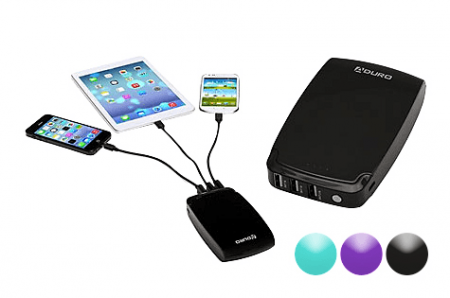 Aduro PowerUp 5200 mAh Portable Backup Battery