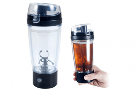 Chef Buddy Auto Mixing Travel Mug with Tornado Action