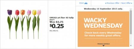 IKEA - Calgary Wacky Wednesday Deal of the Day (Sept 16) A