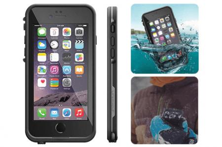 Lifeproof FRĒ Waterproof iPhone 6 Case in Black