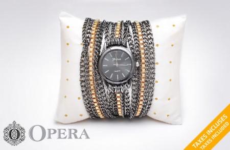 chain bracelet watch