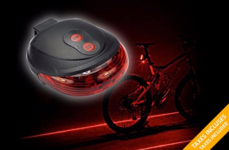 Bike Laser LED Tail Light