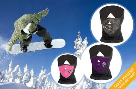 Ergonomic Winter Sports Mask