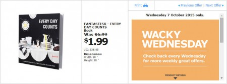 IKEA - Calgary Wacky Wednesday Deal of the Day (Oct 7) A