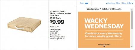 IKEA - Calgary Wacky Wednesday Deal of the Day (Oct 7) B