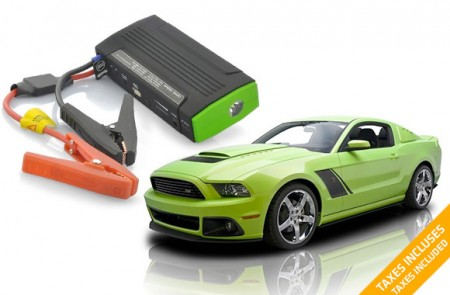Portable Car Battery Bundle